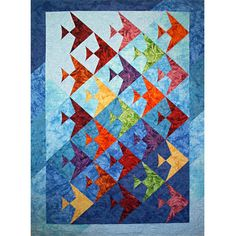 UP A LAZY RIVER QUILT PATTERN