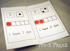 printable dot counting book