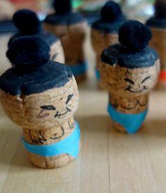 Avec C-MonEtiquette, créez un morpion original et transformez vos bouchons de champagnes en sumos. Venez découvrir tous nos ateliers DIY sur notre blog !!