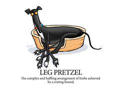 Leg pretzel