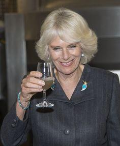 Camilla Parker Bowles Photos: Camilla Parker Bowles at a Winery..Oct 15, 2014