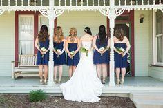 Dallas Wedding Photographer Bridesmaids Portrait