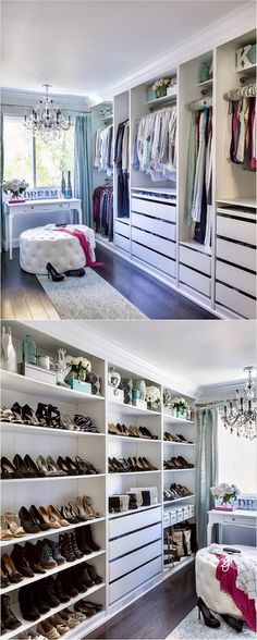 Small Walk In Closet Ideas As Well As Organizer Design To Motivate You. Diy  Walk In Closet Ideas, Walk In Closet Measurements, Closet Organization Ideas .