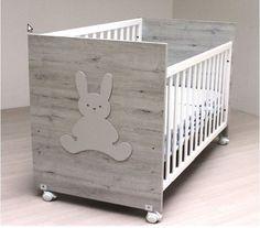709fa5f7a Cuna de bebe Blasi Bed Conejito gris claro  900 CONEJO G. CLARO