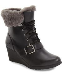 UGG® Janney Waterproof Thinsulate® Wedge Bootie (Women) available at