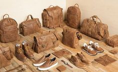 Roots Leather Bags