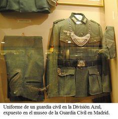 - División Azul :: Españoles en la 2ª G. M. Ww2 Uniforms, German Uniforms, Luftwaffe, Military Police, Military Jacket, Division, Germany Ww2, Ww2 Photos, German Army