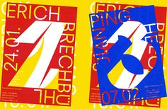 The intelligently bold type and graphic design of Elias Hanzer