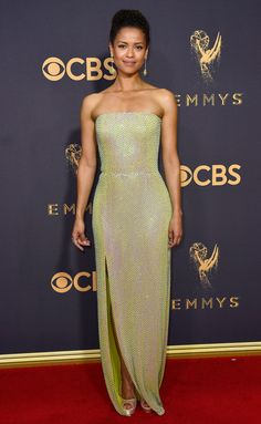 Gugu Mbatha-Raw in BOSS at the 2017 Emmy Awards