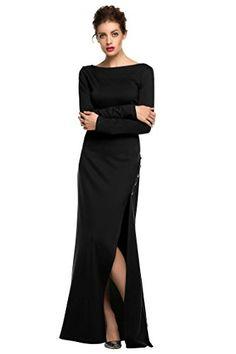 ANGVNS Women's Sequin Applique Evening Party Mermaid Dress Black S ANGVNS http://www.amazon.com/dp/B01B5J5HRA/ref=cm_sw_r_pi_dp_OZq1wb0GZ9E3P