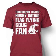 WSU Coug Fan Shirt