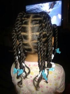 Cute multi twists #naturalhair