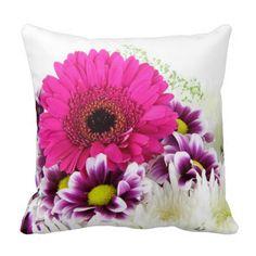 Throw Pillow - Flowers