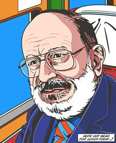 Such a great loss, RIP Umberto Eco (here by RUDCEF) 20/2/2016