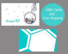 1000  Child Help Origami Owl 2Sided