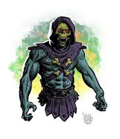 Skeletor by Greg Smallwood