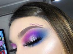 #makeup #galaxy #galaxymakeup #makeupartist #morphebrushes #morphebabe #makeupideas #ideas #ideasfashionbeauty #beautymakeup #beauty #violet #blue Galaxy Makeup, Beauty Make Up, Morphe, Fashion Beauty, Lipstick, How To Make, Hair, Blue, Ideas