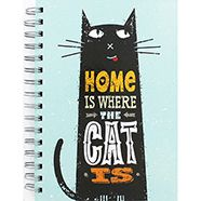 A5 Home Is Where The Cat Is Notebook