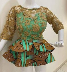Latest African Fashion Dresses, African Dresses For Women, African Print Dresses, African Print Fashion, Africa Fashion, African Attire, Ankara Fashion, African Prints, African Fabric