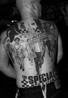 2 tone tattoo