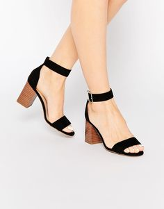 a8d60894d5d Image 1 of New Look Block Heels Asos Shoes