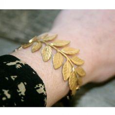Gold Branch Bracelet - Athena
