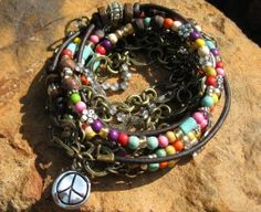 Please vote for this design at shop bevel.com.  Boho Hippie Girl  Great jewelry and great prices!