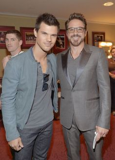 love RDJ & Jacob!