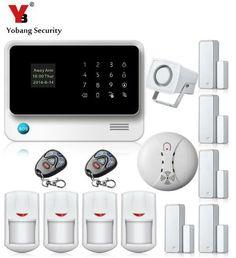 Yobang Security Wifi GSM Home Security Alarm Touch Screen Burglar Security Alarm Smoke Detector Alarmas Para Casa Sin Cables #Affiliate