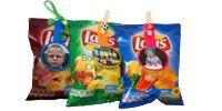 Zelf maken en uitprinten: Chips wikkel
