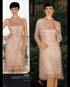 Crochet Beaded Silk Duster--Elegant indeed.