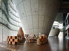 Museum shop at National Art Center by Torafu Architects, Tokyo » Retail Design Blog