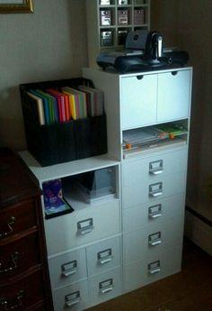 #papercraft #crafting supply #organization. Jetmax cube organization