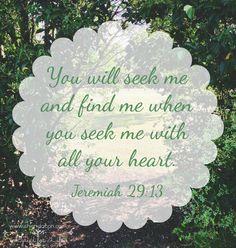 Jer. 29:13