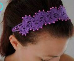 Free: Queen Anne's Lace Headband  Beaded Beauty Paisley Headband featured in Sova-Enterprises.com Newsletter!