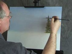 Oil Painting Lesson - Wilson Bickford -  Fir Tree