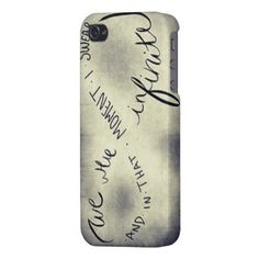 Perks of Being a Wallflower Quote iPhone case. My own design :)