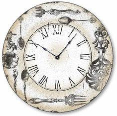 clock face by ephy. Clock Art, Diy Clock, Clock Printable, Art Nouveau Poster, Wall Watch, Cool Clocks, Vintage Art Prints, Decoupage Paper, Vintage Labels