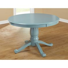simple living alexa round pedestal dining table. beautiful ideas. Home Design Ideas