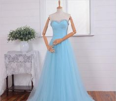 Tulle Women's Dress Beaded Fashion Ball Dress Sleeveless