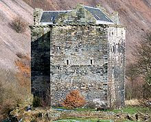 Niddry Castle is a fourteenth-century tower house near Winchburgh, West Lothian, Scotland