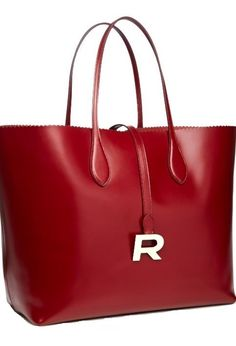 Emmy DE * Phoebe Leather Tote by Rochas FW 2014