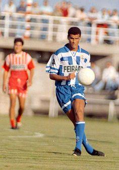 Rivaldo del Deportivo de la Coruña 1996/97.