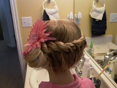 Lots of little girls hairstyles. Quick too!