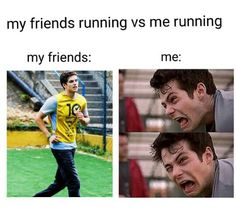 Find images and videos about funny, teen wolf and dylan o'brien on We Heart It - the app to get lost in what you love. Teen Wolf Memes, Teen Wolf Funny, Teen Memes, Teen Wolf Quotes, Stiles Teen Wolf, Teen Wolf Cast, Teen Wolf Isaac, Really Funny Memes, Stupid Funny Memes