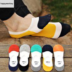 5 пар весна лето корейский чулочно силикон противоскользящих стелс шитьё вилочная часть тапочки носки женщины носки до щиколотки носкикупить в магазине happymonkeyнаAliExpress