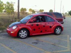ladybug drop car