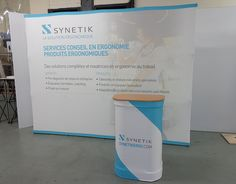 Xtension Flat Backwall Display with case to counter kit. Tradeshow Banner Design, Coaching, Display Design, Trade Show, Pop Up, Signage, Counter, Kit, Marketing