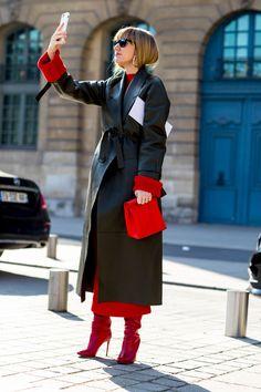Paris Fashion Week Street Style Fall 2018 Day 2 - The Impression