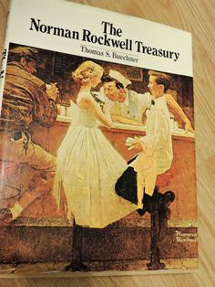 The Norman Rockwell Treasury Book by Thomas S. Buechner 1979 by ForHerEarsOnly | Etsy